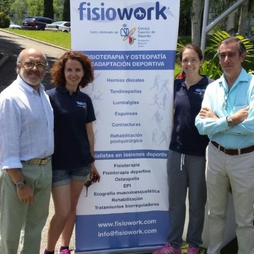 fisioWORK implicado en el programa Crecemos en equipo